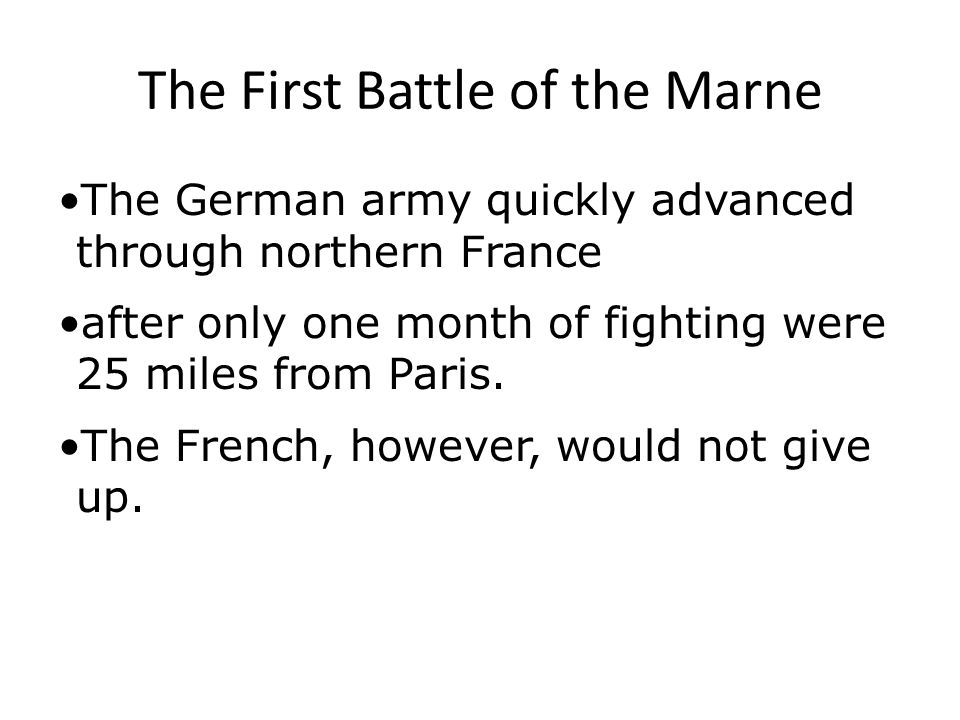 A New Kind of Warfare French war strategy had not changed much since the 1800s.