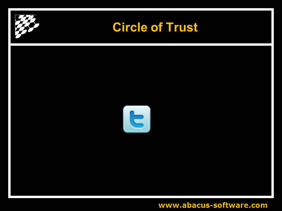 www.abacus-software.com Circle of Trust