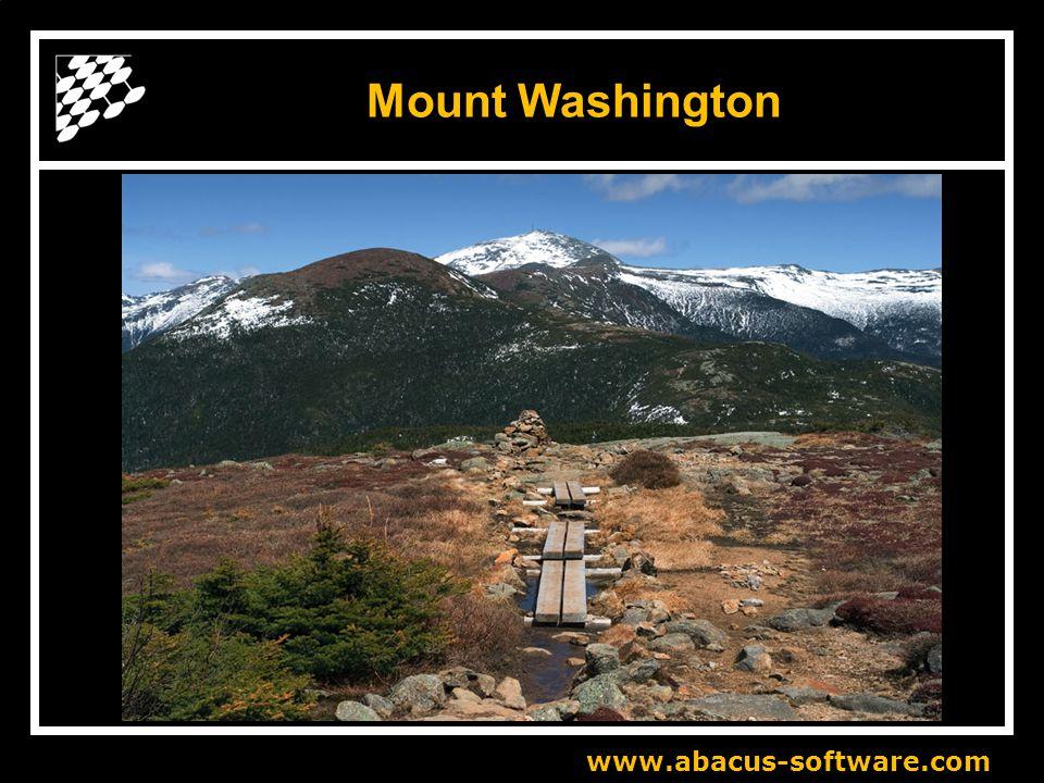 www.abacus-software.com Mount Washington