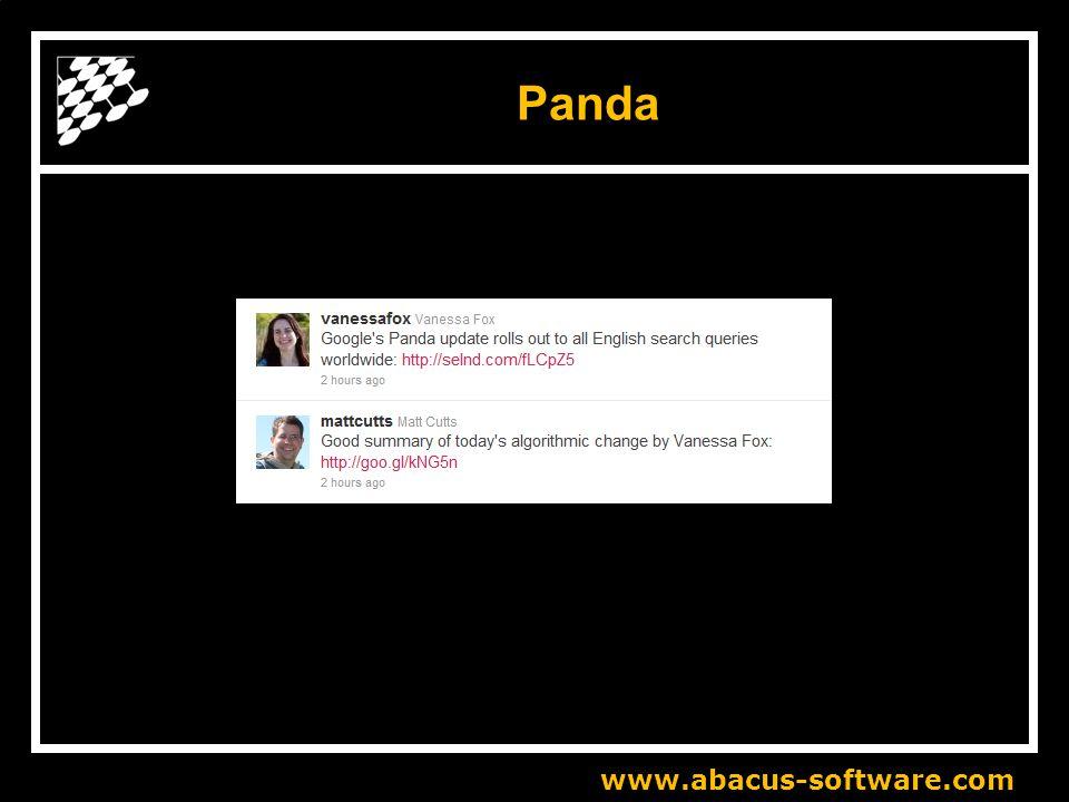Panda www.abacus-software.com