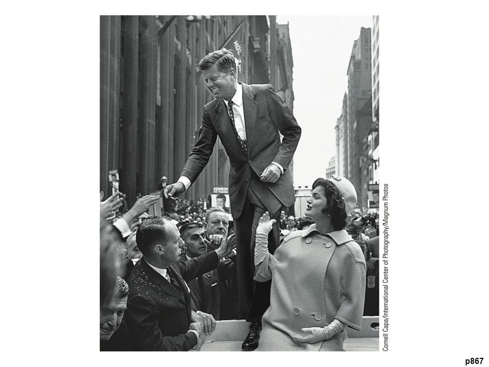 Election results: – Kennedy—303 electoral votes to 219 for Nixon – JFK s popular vote margin only 118,574 votes out of over 68 million cast – First Roman Catholic and youngest person elected to presidency Kennedy ran well in industrial centers Had strong support from African Americans – Telephoned Coretta King while Dr.