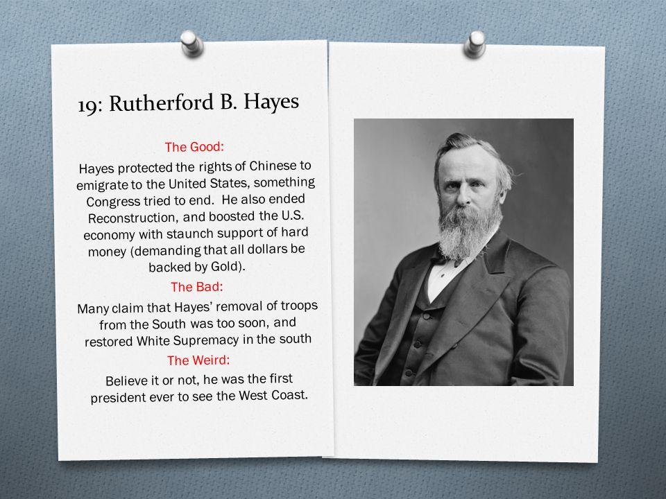 19: Rutherford B.