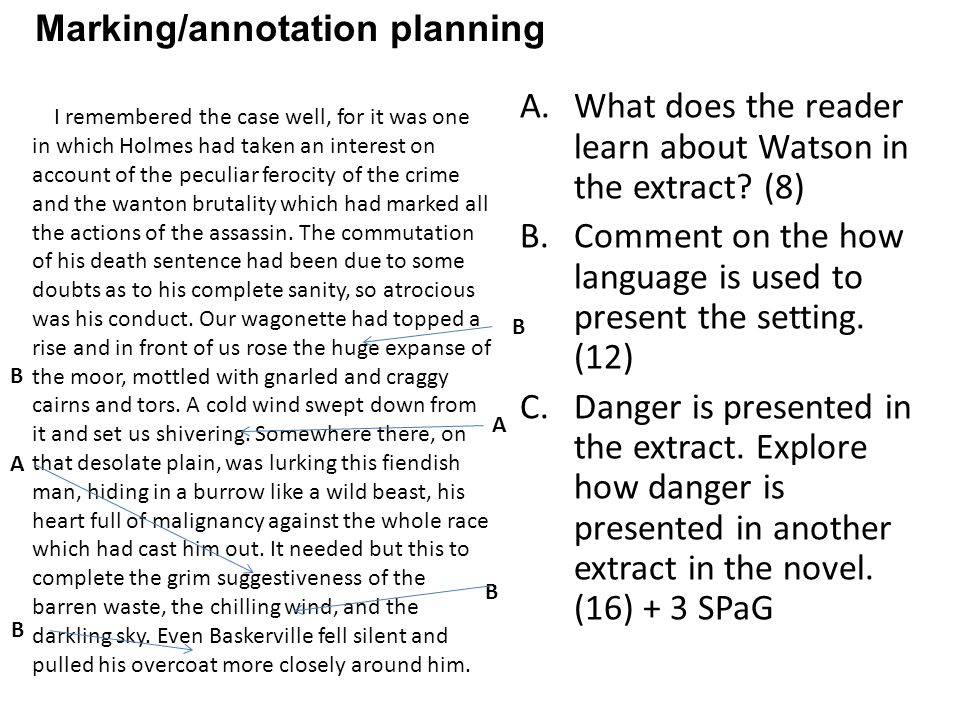 A.What does the reader learn about Watson in the extract.