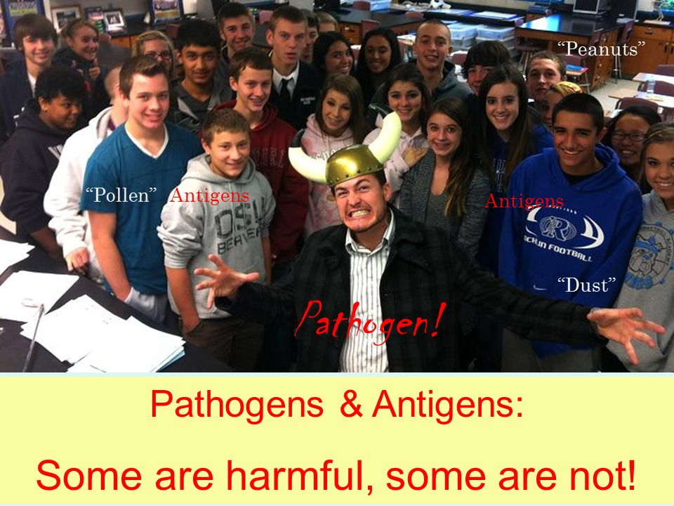 The Pathogen: He's on a mission to multiply!!!