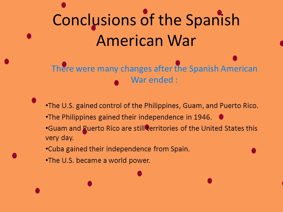 A Little War On July 17, 1898 Spain surrendered in Santiago. The Spanish leaders signed an armistice agreeing to stop fighting. The Spanish American W