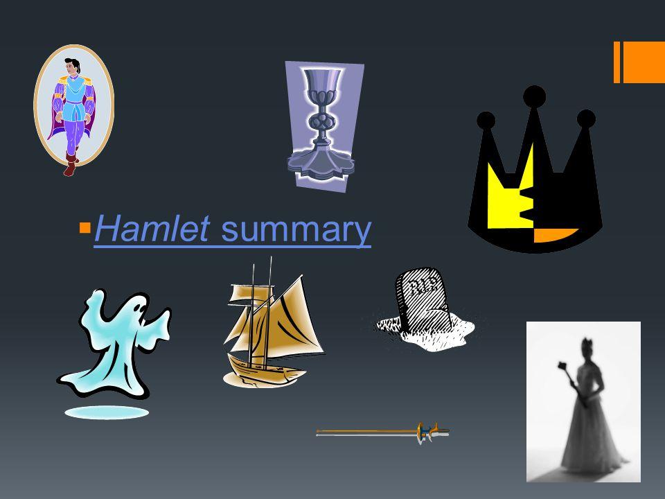  Hamlet summary Hamlet summary