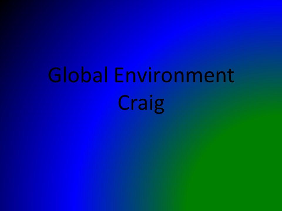 Global Environment Craig