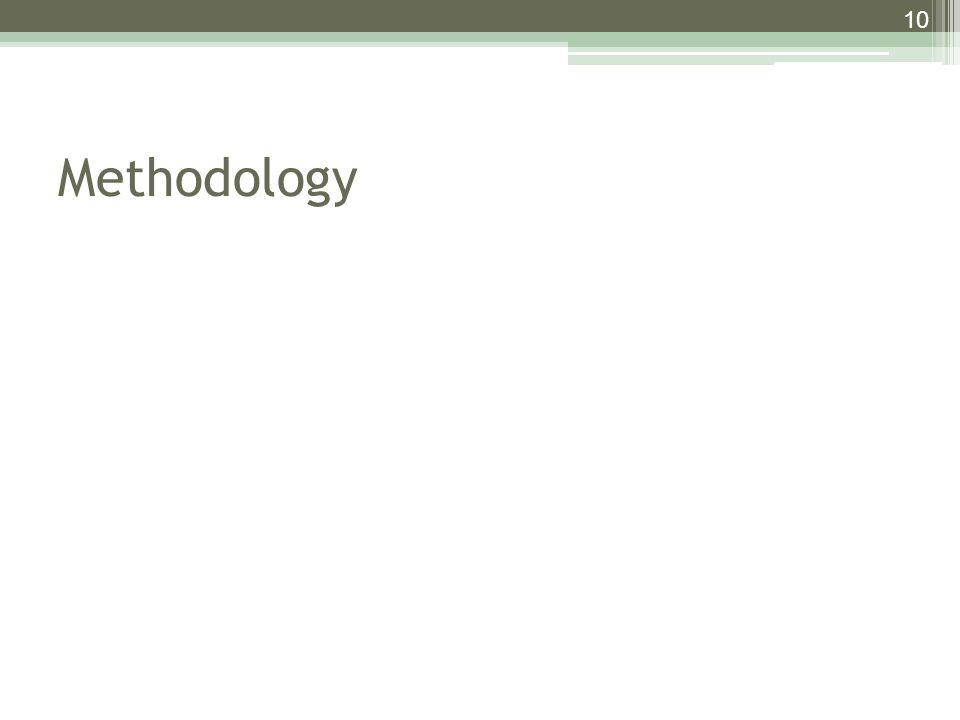 Methodology 10