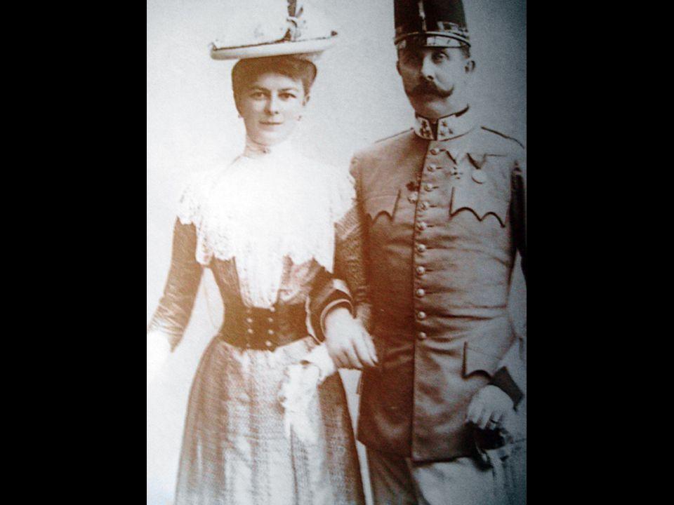 Archduke Franz Ferdinand Sophie (his wife)
