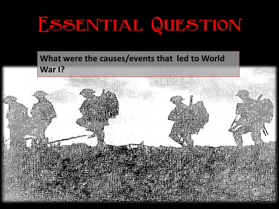   Identify the political and military forces at work in Europe in the late 1800's.  List the countries that made up the Triple Alliance an