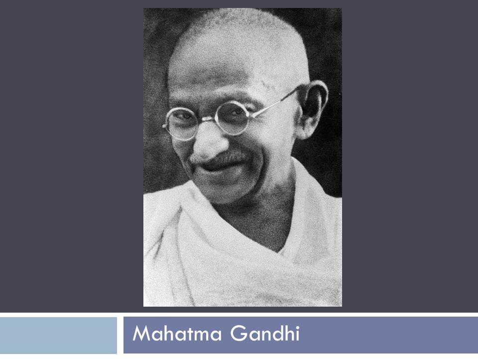Who was Mahatma Gandhi. 22.