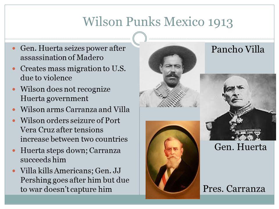Wilson Punks Mexico 1913 Gen.