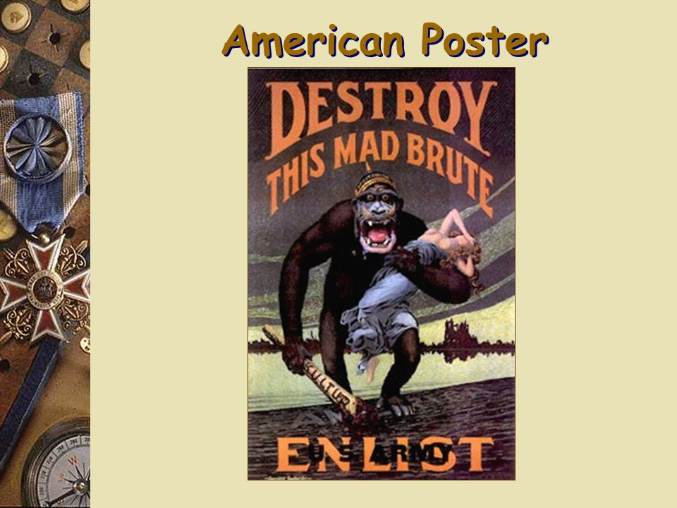 Recruitment Posters (Propaganda)