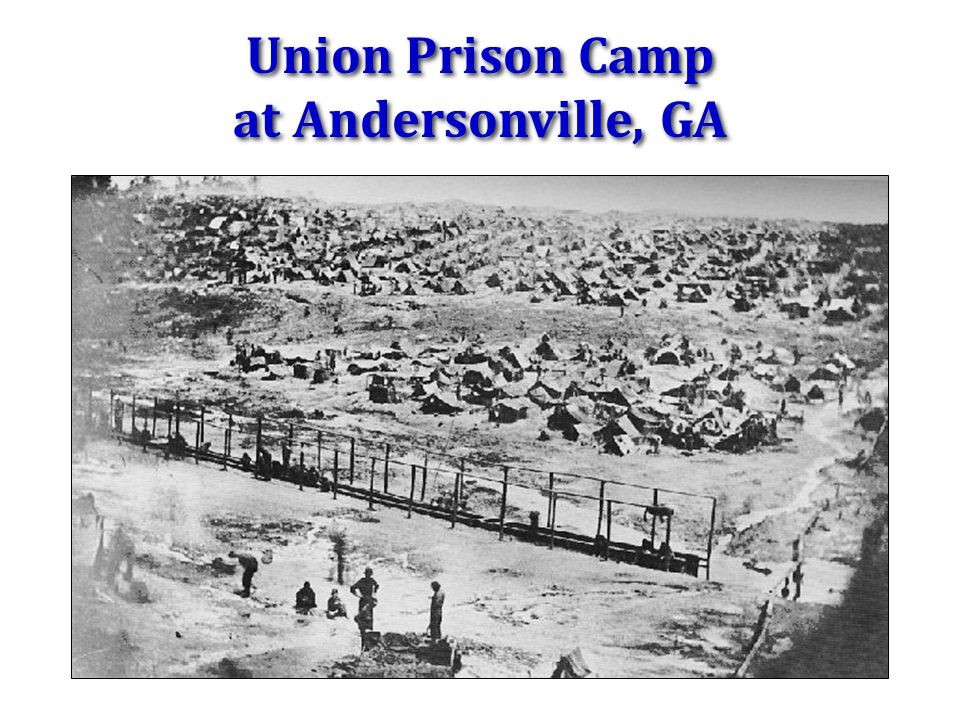Union Prison Camp at Andersonville, GA