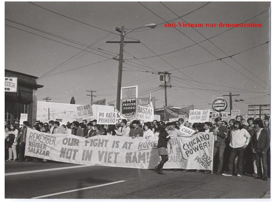 anti-Vietnam war demonstration