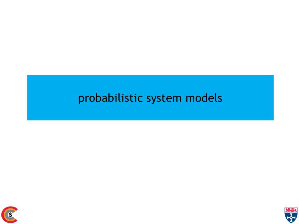 probabilistic system models