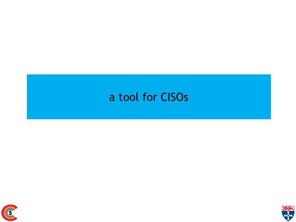 a tool for CISOs