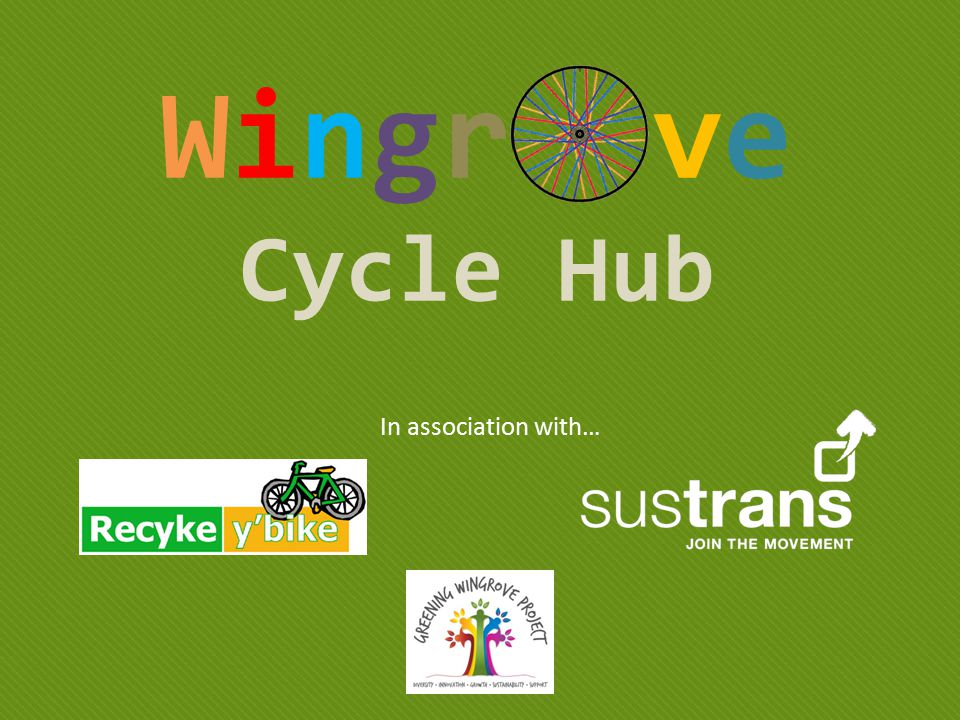 Wingr ve Cycle Hub In association with…