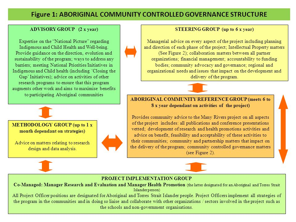 STEERING GROUP (up to 6 x year) Managerial advice on every aspect of the project including planning and direction of each phase of the project; Intellectual Property matters (See Figure 2); collaboration matters between all partner organizations; financial management; accountability to funding bodies; community advocacy and governance; regional and organizational needs and issues that impact on the development and delivery of the program.