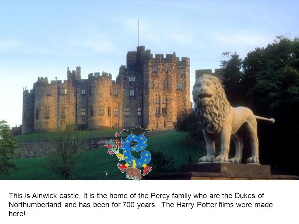 This is Alnwick castle.