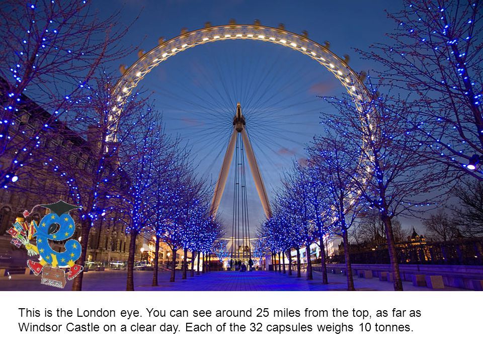This is the London eye.