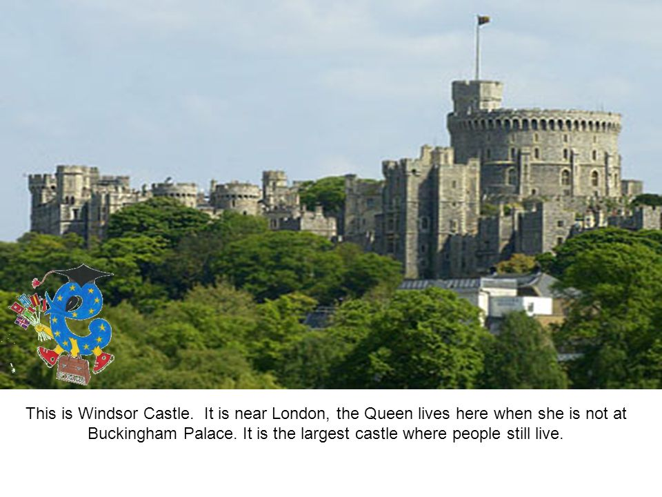 This is Windsor Castle.