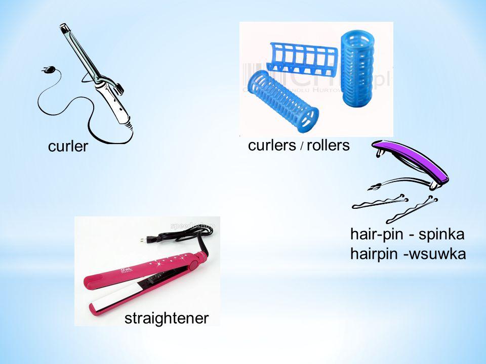 curler straightener curlers / rollers hair-pin - spinka hairpin -wsuwka