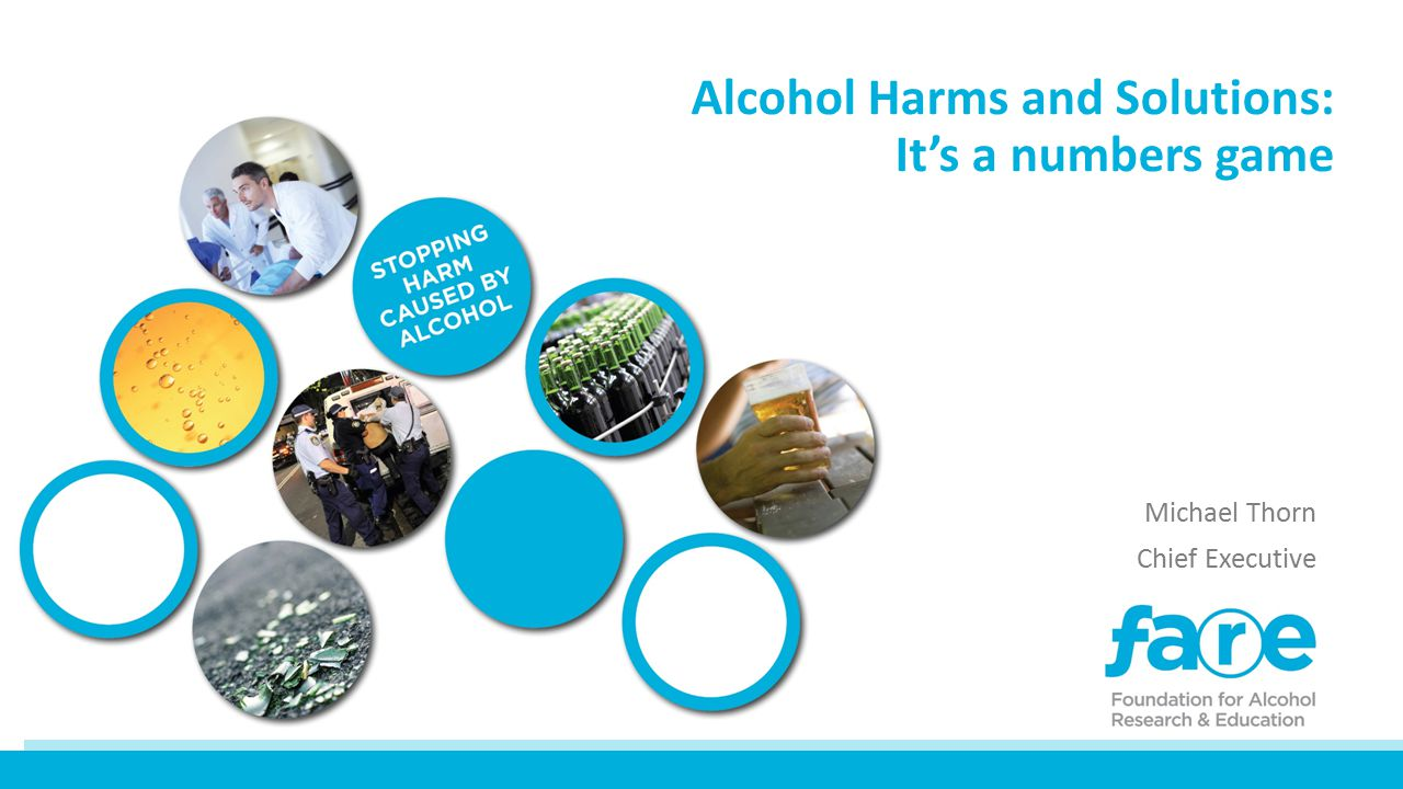 Alcohol is the major drug of abuse in Australia.