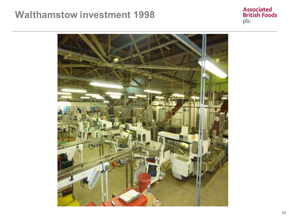 20 Walthamstow investment 1998