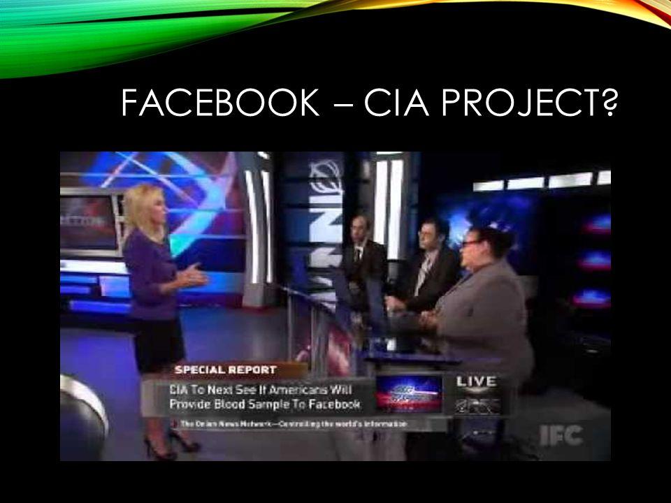 FACEBOOK – CIA PROJECT