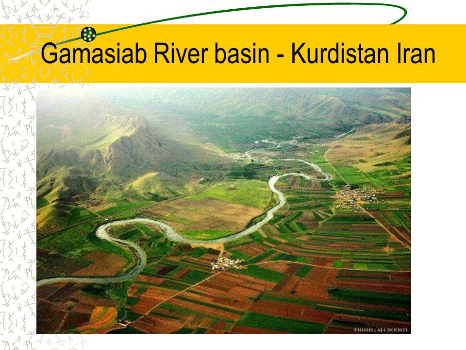 Gamasiab River basin - Kurdistan Iran