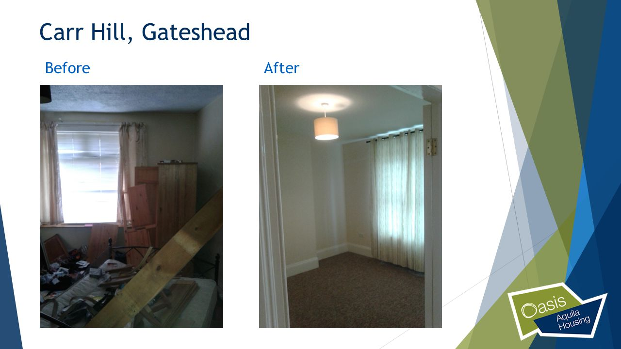 Carr Hill, Gateshead Before After