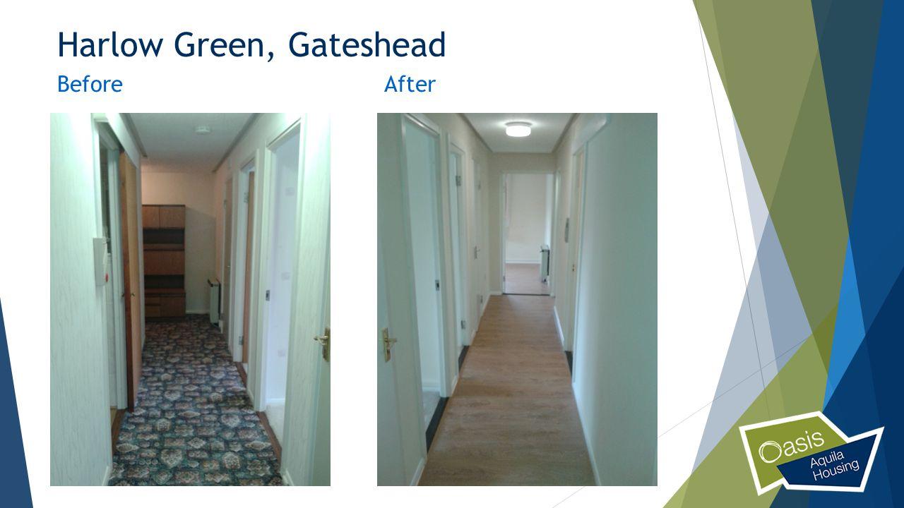 Harlow Green, Gateshead BeforeAfter