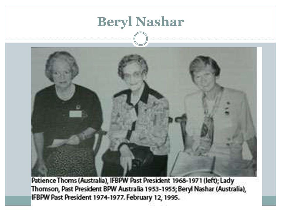 Beryl Nashar