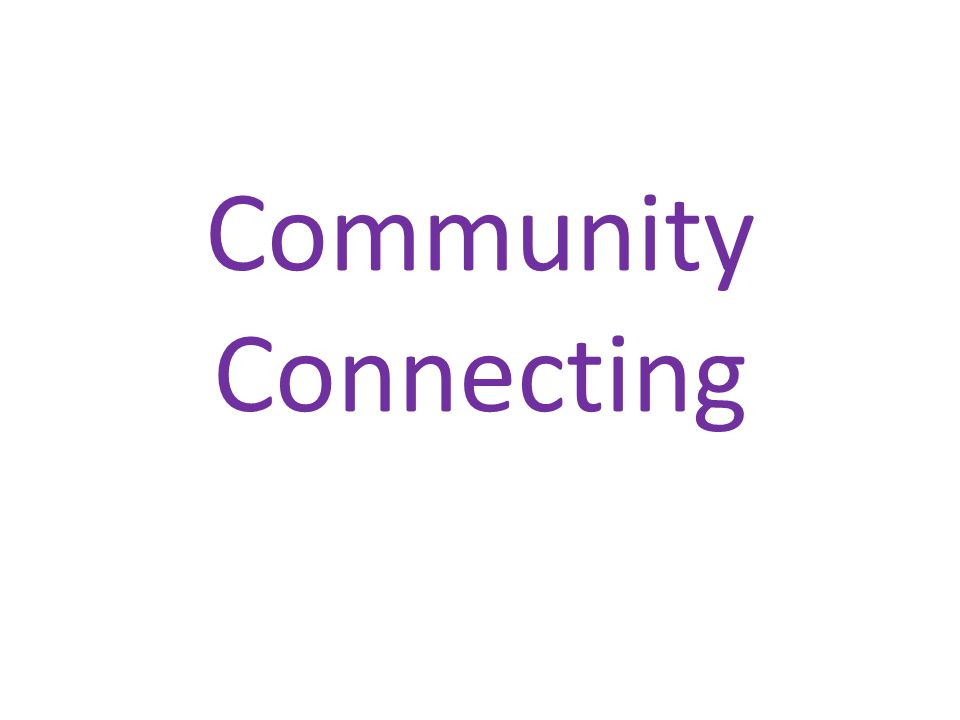 Community Connecting