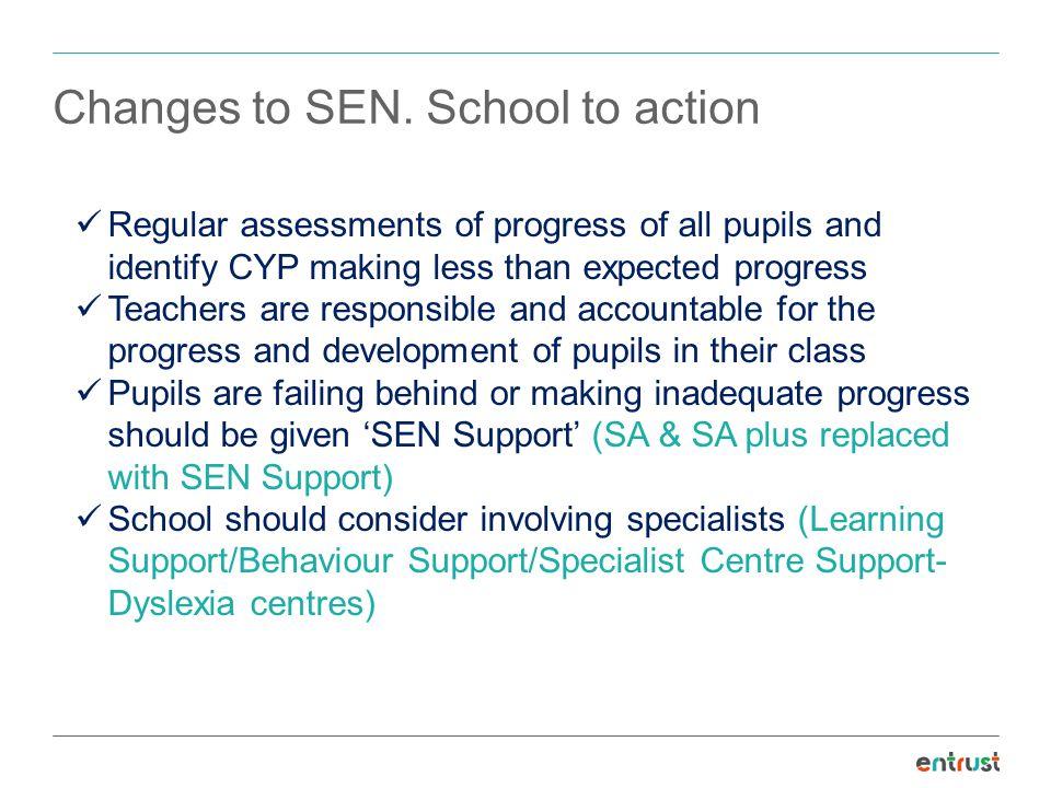 Changes to SEN.