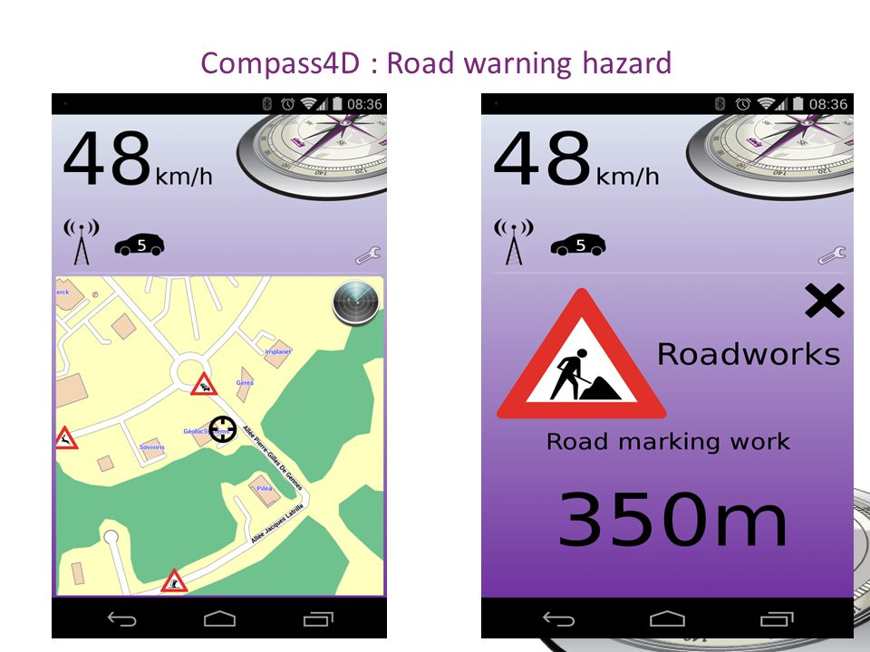 Compass4D : Road warning hazard SIS28 - 18.06.2014 - Helsinki
