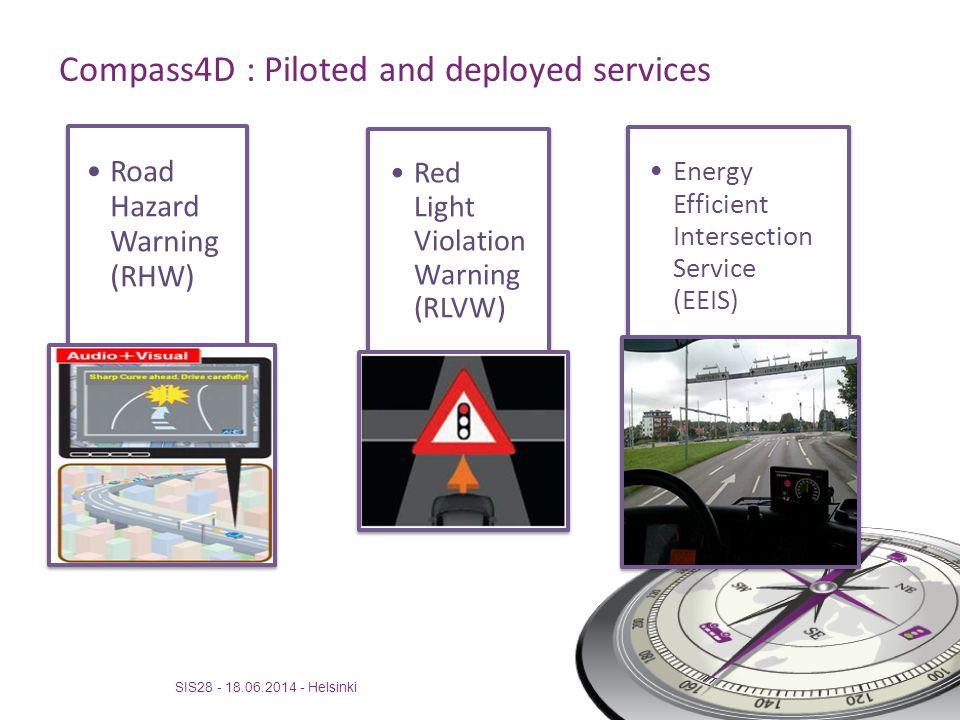 Compass4D Urban Bordeaux deployment SIS28 - 18.06.2014 - Helsinki
