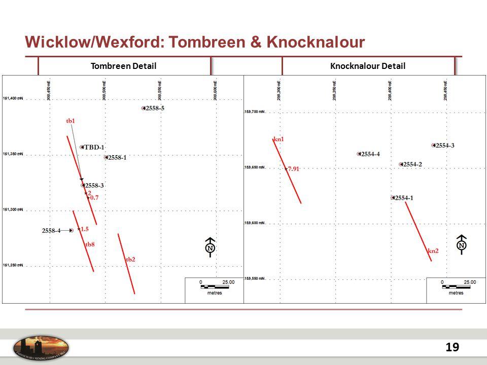 Wicklow/Wexford: Tombreen & Knocknalour 19 Tombreen Detail Knocknalour Detail