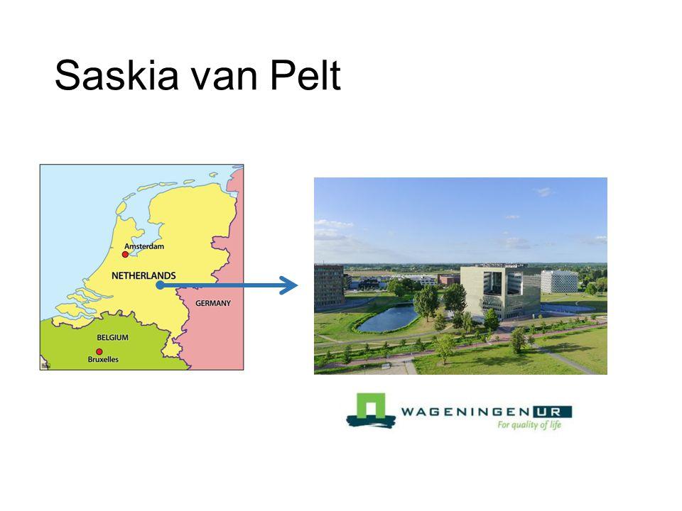 Saskia van Pelt