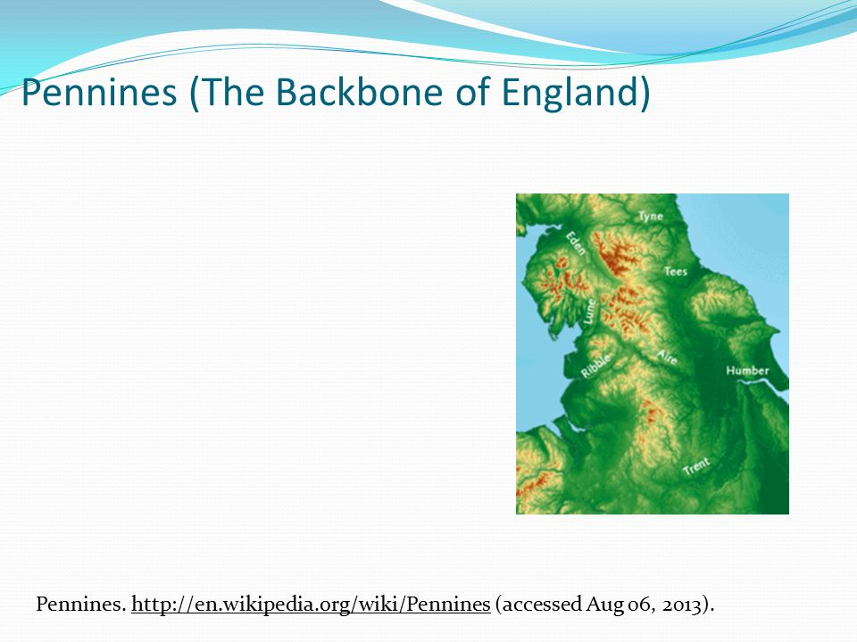 Pennines (The Backbone of England) Pennines.