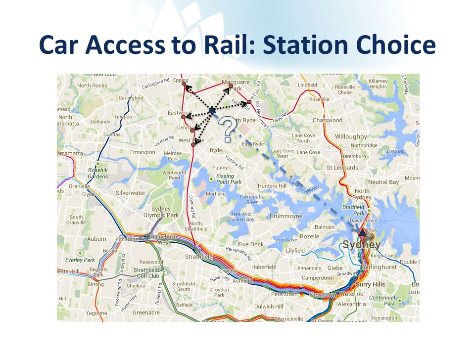 Car Access to Rail: Station Choice
