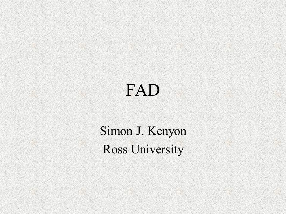 FAD Simon J. Kenyon Ross University