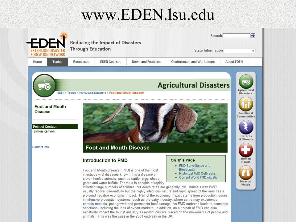 www.EDEN.lsu.edu
