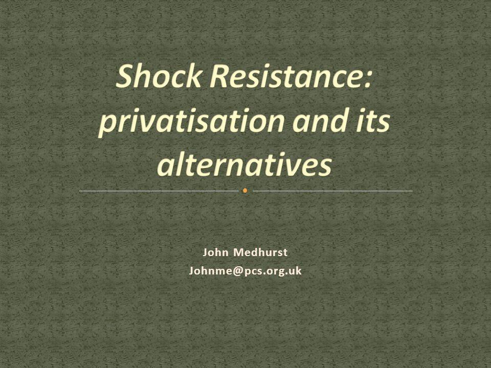 John Medhurst Johnme@pcs.org.uk
