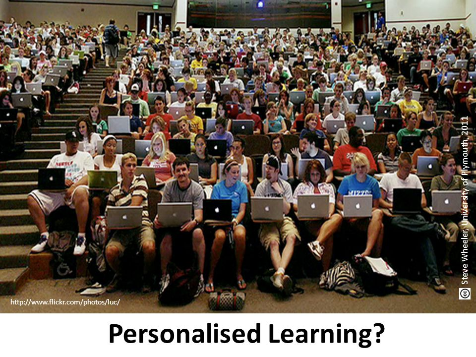 http://www.flickr.com/photos/luc/ Personalised Learning.