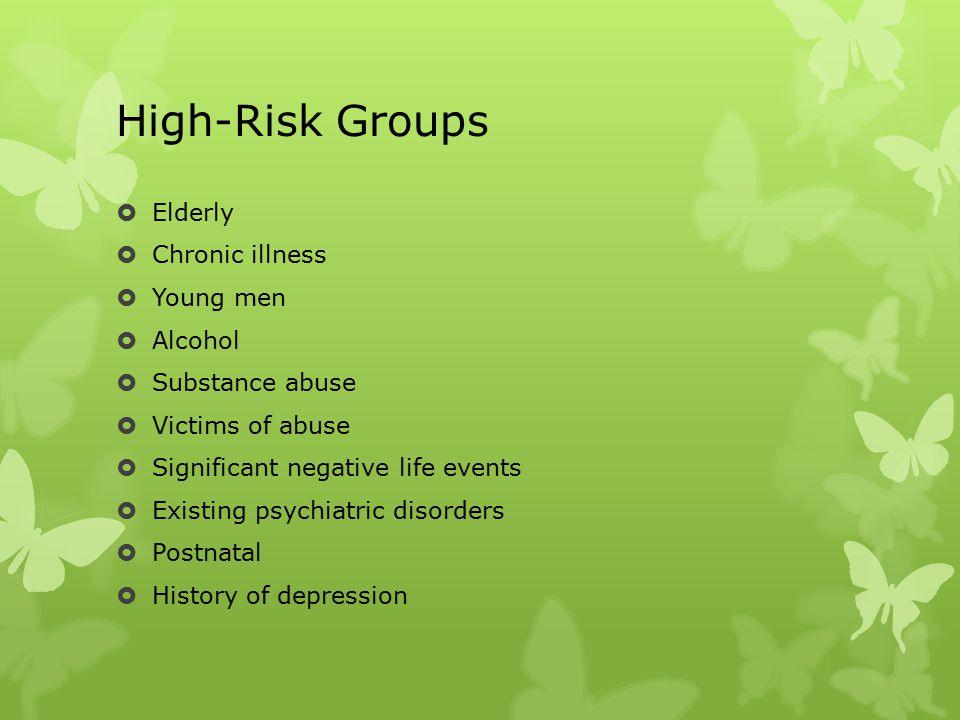 Depressed…… what next . Immediate referral to IHTT.