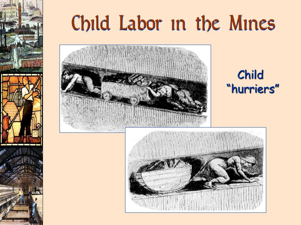Child Labor in the Mines Child hurriers