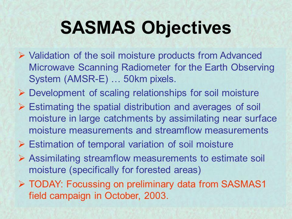 Vegetation Soil Moisture and Biomass Correlations (?) No Apparent Correlation Weak Positive Correlation