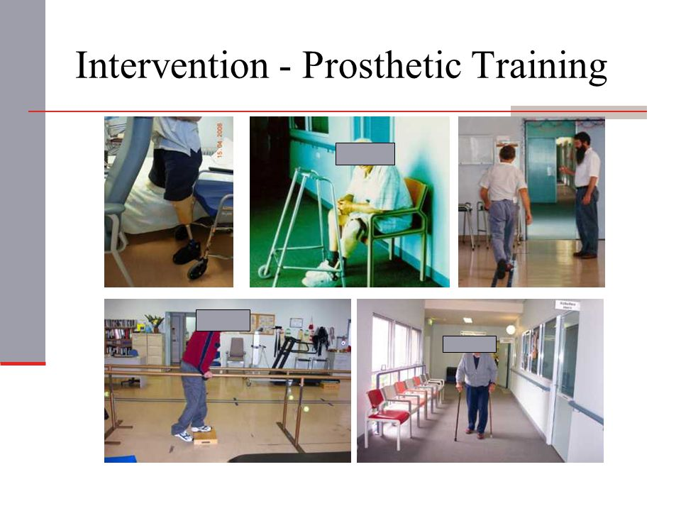 Intervention - Prosthetic Training